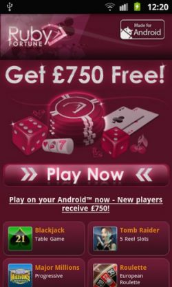 best mobile casinos ruby