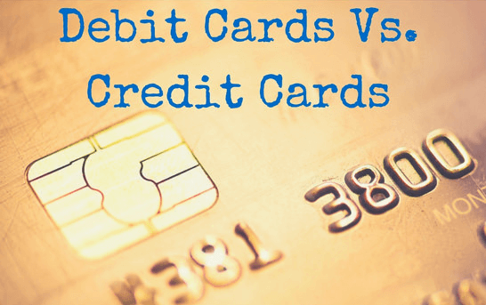 Main Differences between Credit and Debit Cards