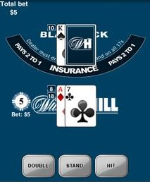 mobile blackjack william hill